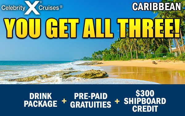 Celebrity pre paid gratuities cruise
